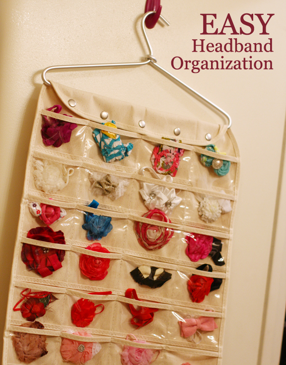 Easy Headband Organization