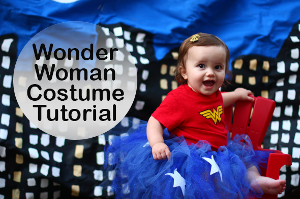 Baby Wonder Woman Costume Tutorial