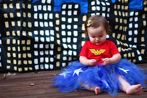Baby Wonder Woman Costume  sc 1 st  The Mom Creative & Wonder Woman Costume Tutorial: Perfect for Babies u0026 Little Girls