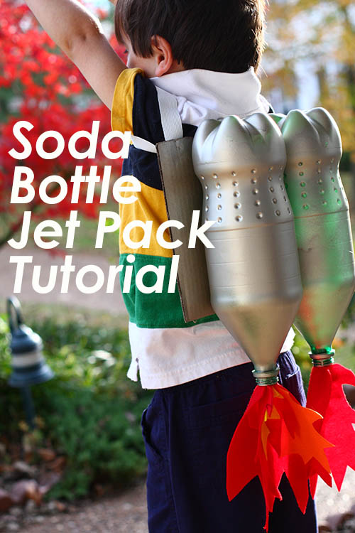 Soda Bottle Jet Pack Tutorial