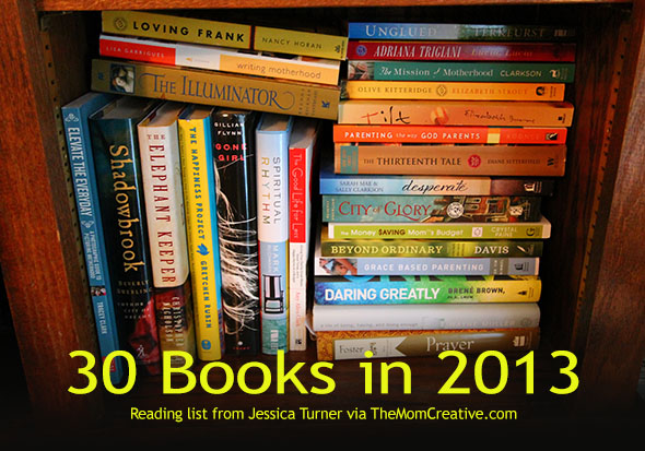 30 Books in 2013