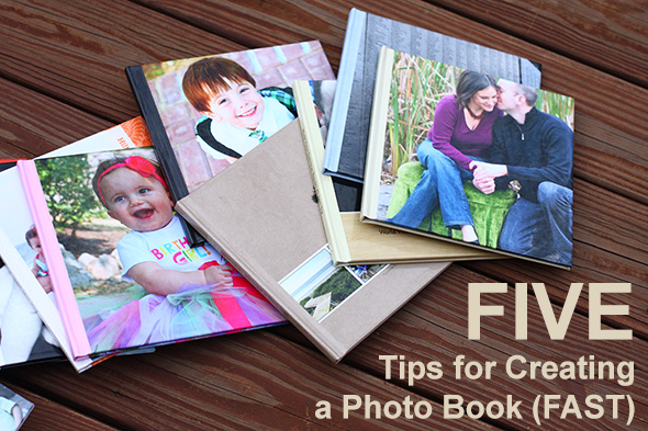 5 tips for creating a photo book fast the mom creative. Black Bedroom Furniture Sets. Home Design Ideas