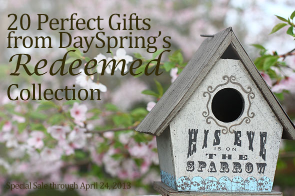 20 Mother's Day Gift Ideas from DaySpring's Redeemed Collection