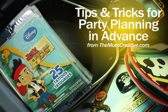 Tips and Tricks for Party Planning in Advance