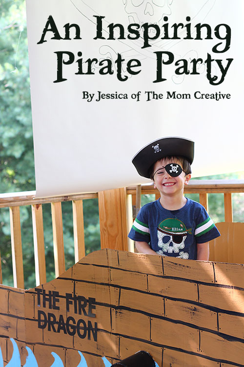 A 5 Year Olds Magical Pirate Birthday Party