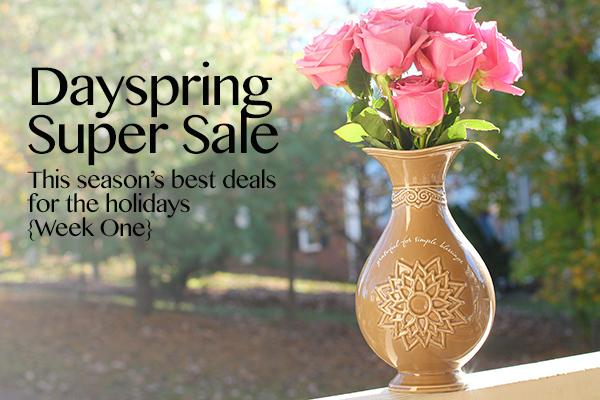 DaySpring sale on vases
