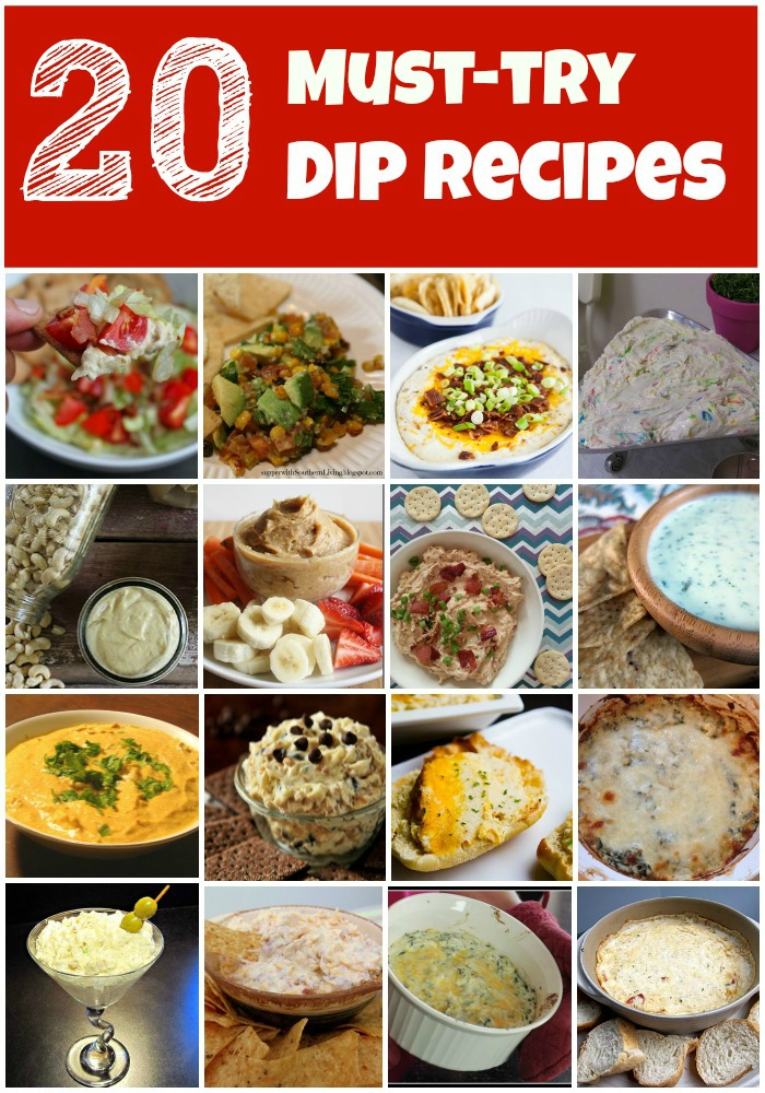 20 must-try dip recipes