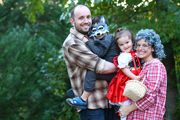 Little Red Riding Hood Family Costume And Annual Halloween Costume
