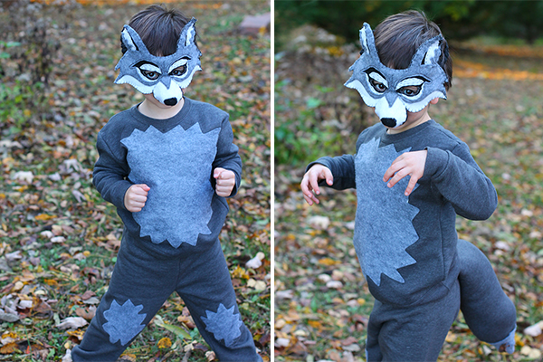 Wolf Halloween costume