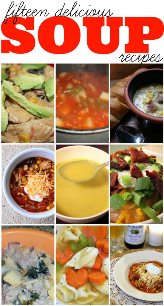 15 delicious soups