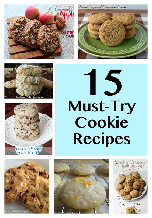 15 must-try cookie recipes