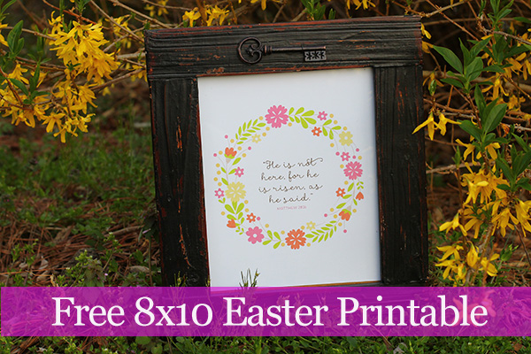 Free Easter Printable Free Christian Bible Verse Printable
