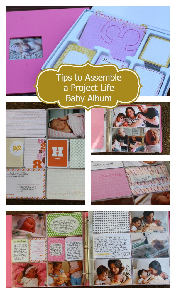 Tips to Assemble a Project Life Baby Album
