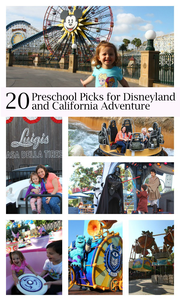 20 preschool picks for Disneyland and California Adventure