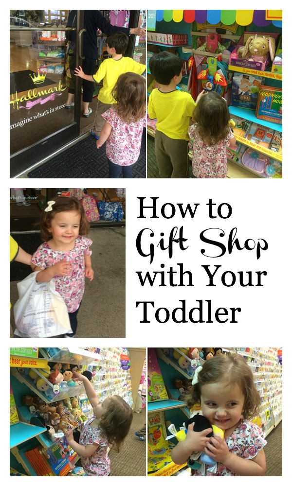 How to gift shop with your toddler