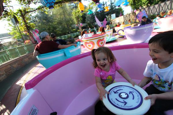 teacups Disneyland