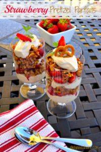 Strawberry Pretzel Parfait