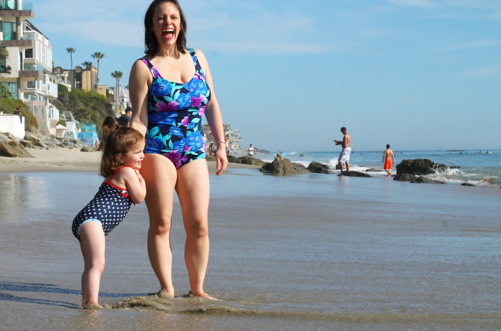 Put on that swimsuit - a call for making memories this summer #summer #motherhood #beauty