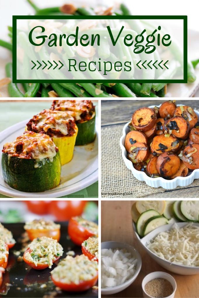 Garden Veggie Recipes - perfect for summer