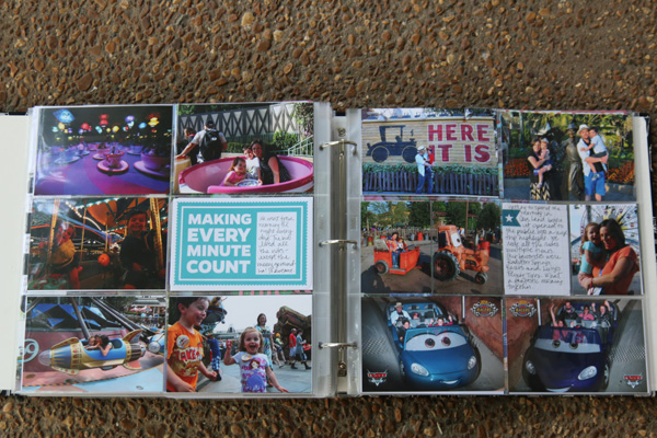Disney Project Life Pages