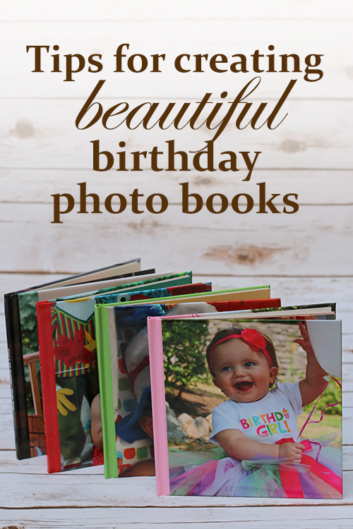 tips for creating beautiful birthday photo books and a free 8x8 photo book from Shutterfly