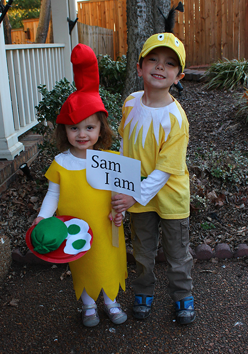 Dr. Seuss Costume tutorials for Sam I Am and Star Bellied Sneetch