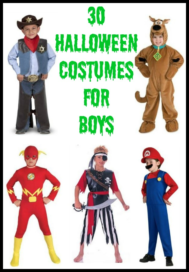30 Halloween Costumes for Boys