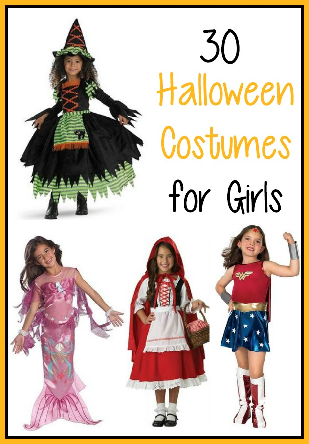 30 Halloween Costumes for Girls