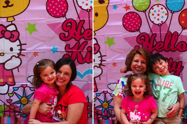Hello Kitty Photo backdrop