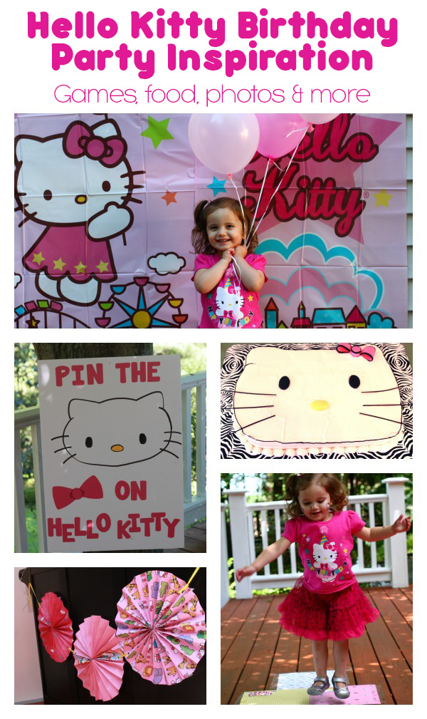 Hello Kitty Birthday Party Inspiration