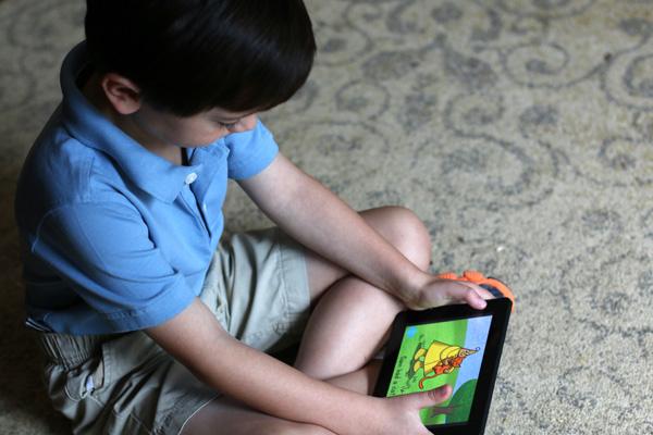 Kindle for a Kindergartener Learning Sight Words