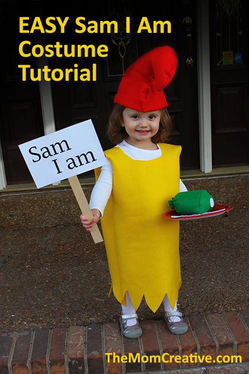 Easy Sam I Am Costume Tutorial The Mom Creative