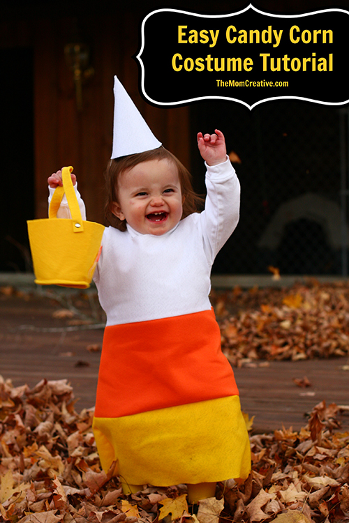 DIY: Easy Candy Corn Costume Tutorial