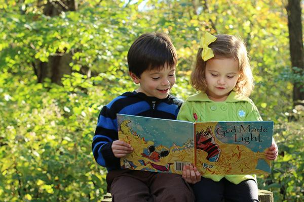 God Made Light childrens book
