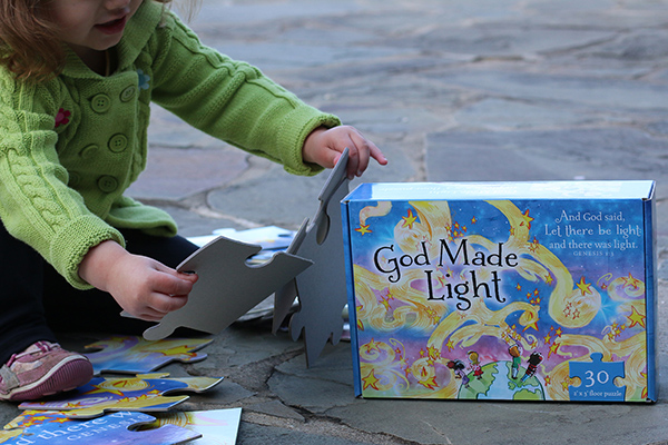 God Made Light Puzzle