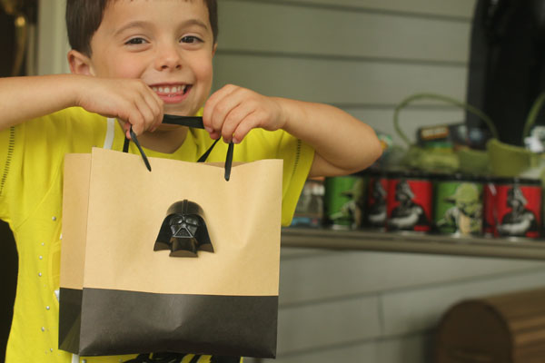 Star Wars Birthday party scavenger hunt