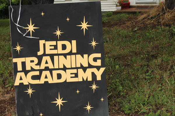 Star wars birthday party with jedi training academy star wars birthday party jedi training academy yadclub Gallery
