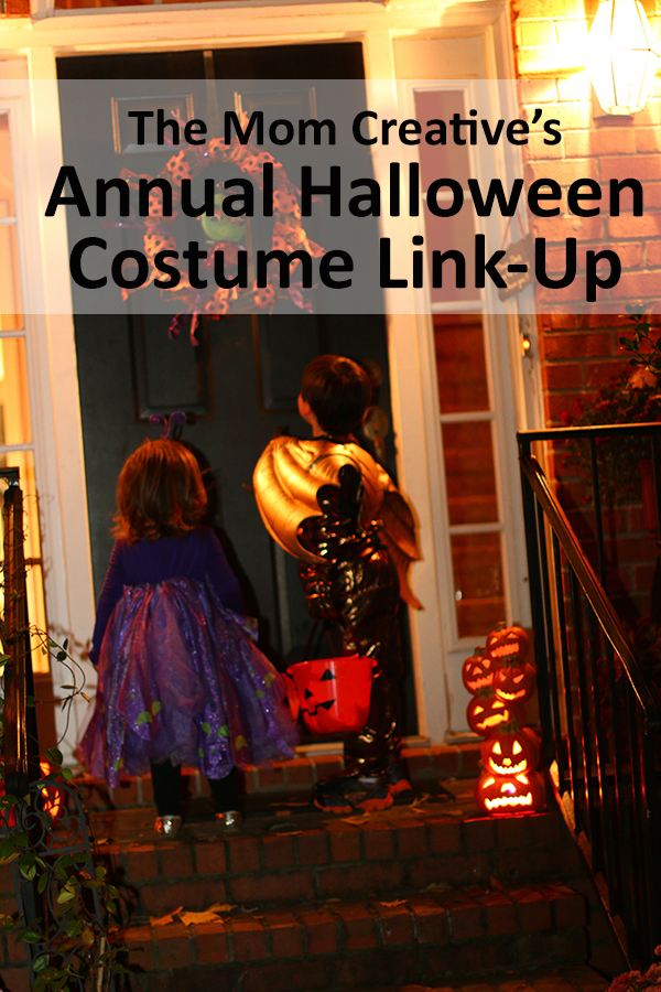 Annual Halloween costume link-up with tons of halloween costume ideas