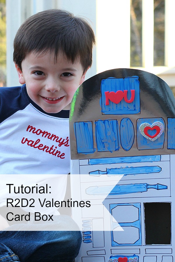 Tutorial: R2D2 Valentines card box