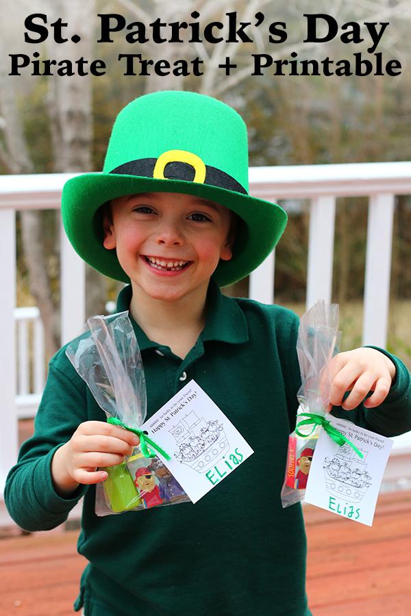 St. Patrick's Day Class Treat + Printable