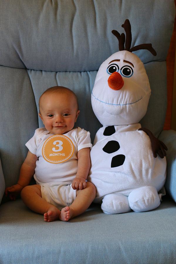 Ezra at 3 Months