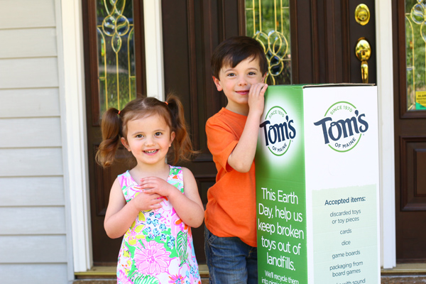 Tom's of Maine and Earth Day
