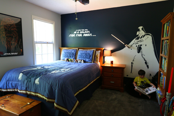 Star Wars Bedroom For A Little Boy