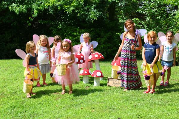 fairy party treasure hunt