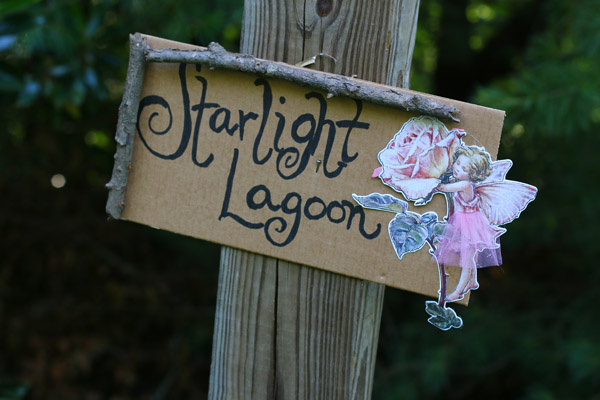 Fairy party treasure hunt with clues and ideas for treasure. Perfect for a fairy party