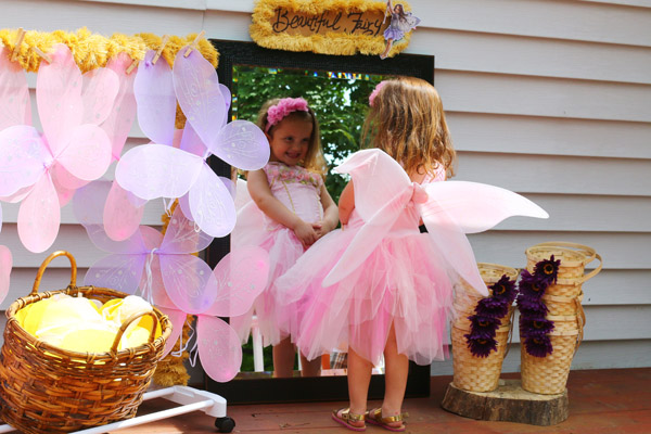 fairy dress up station