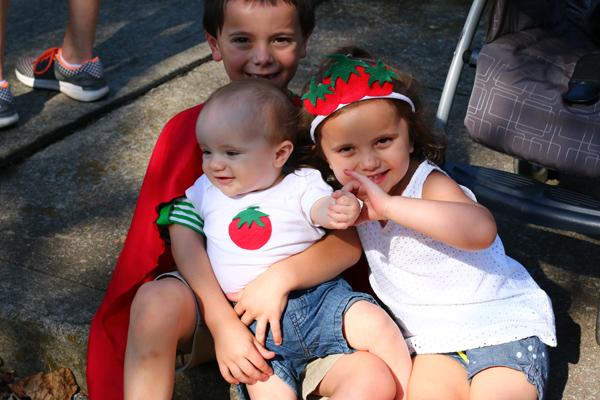 Tomato Art Fest Costumes