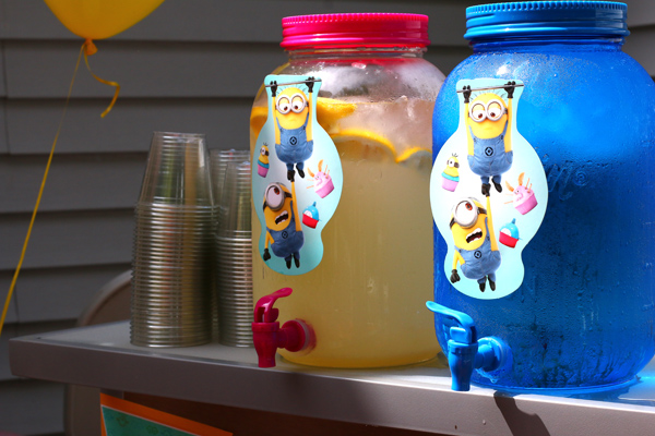 Awesome Minion Birthday Party with details about food, decor, games and more