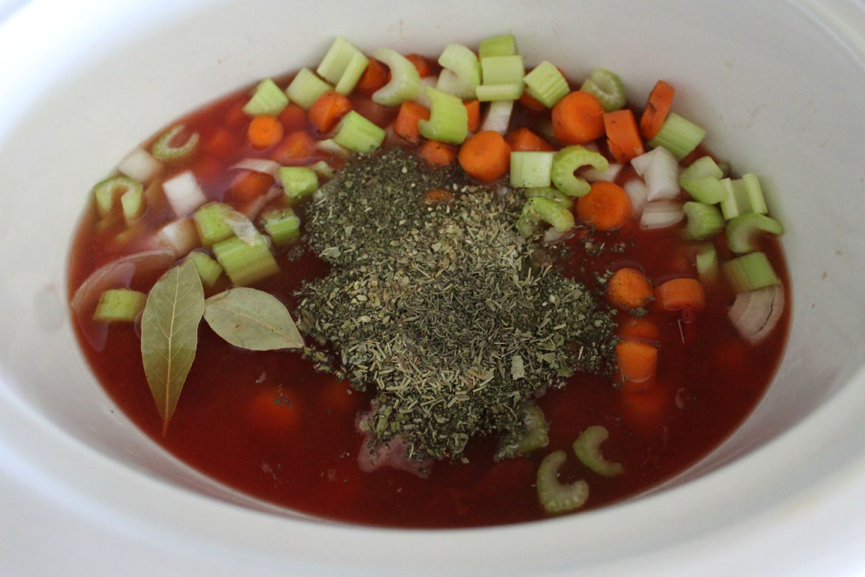 Copycat Olive Garden Minestrone in the Crock Pot