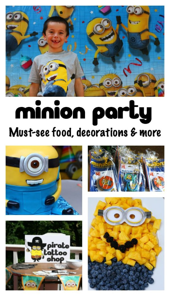 Minion birthday party with must-see food, decorations and more